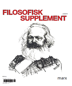 Tormod Fjeld Lie (red.) og Patrick J. Winther-Larsen (red.): Filosofisk supplement 2/2019: Marx